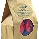 Apple Harvest, Fall Scented Soy Tealights, 12 Pack Clear Cup Candles, Autumn Scented
