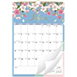 """2021 Calendar - 12 Monthly Wall Calendar with Thick Paper, 12"""" x 17"""", Jan - Dec 2021 Twin-Wire Binding + Hanging Hook + Large"""