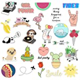 RipDesigns - 25 VSCO Stickers for Water Bottles, Laptops (Series 10)
