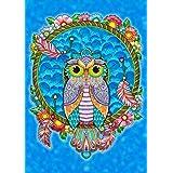 """Toland Home Garden 1112122 Dreamcatcher Owl 12.5 x 18 Inch Decorative, Garden Flag (12.5"""" x 18"""")"""