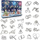 KITEOAGE Advent Calendars for Kids Adult 2021 Metal Puzzle Christmas Countdown Calendars
