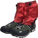 Ushining ロングゲイター 登山スパッツ レッグカバー シューズカバー アウトドア靴カバー 砂カバー 通気 防水 泥除け トレッキング ランニング 男女兼用…