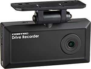 コムテック 日本製ドライブレコーダー HDR-101 1年保証+microSDHCカード(4GB)付 100万画素 HD 常時録画 衝撃録画