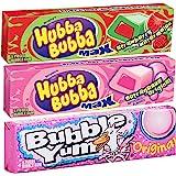 Hubba Bubba(ハバ・ババ) バブルヤム バブルガム チューインガム フレーバー ガム 3個セット [並行輸入品]