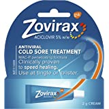 Zovirax Cold Sore Cream Tube with Dimethicone, 2 Grams