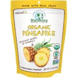 Natierra Nature's Organic Freeze-Dried Pineapples   Gluten Free & Vegan   1.5 Ounce