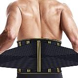 腰サポーター SZ-Climax ぎっくり腰 シェイプアップベルト トレーニング スポーツ用 伸縮性 通気 二重ベルト 男女兼用