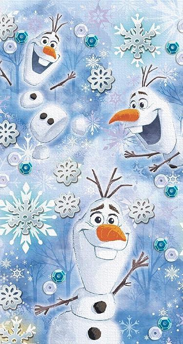 ディズニー  iPhone/Androidスマホ壁紙(744×1392)-1 - アナと雪の女王2 (オラフ)