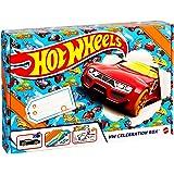 ホットウィール(Hot Wheels) アドベンチャー ギフトセット 【ベーシックカー6台 レール ステッカー入り】 GWN96