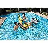 Poolmaster T-Rex Inflatable Ride-On Dinosaur Jumbo Swimming Pool Float Rider