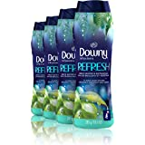 Downy Infusions In-Wash Scent Booster Beads, Refresh, Birch Water & Botanicals, 10 Ounce, 4 Count