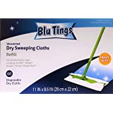 Contranco CJ LLC Generic Dry Sweeping Cloths Refill, fits Swiffer and Most Brands' mops, Heavy Duty, unscented, 60 Counts, by