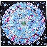 RELIGHT タロットクロス ホロスコープ タペストリー リーディング マット 星座 sp-137