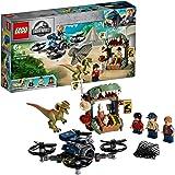 LEGO Jurassic World Dilophosaurus on The Loose 75934 Building Kit
