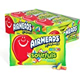 Airheads Xtremes Sourfuls Candy Bag, Rainbow Berry, Party, Non Melting, 2 ounces (Pack of 18)