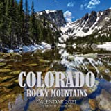 Colorado Rocky Mountains Calendar 2021: 16 Month Calendar