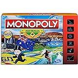 MONOPOLY - Australia Edition - Unique Events: State of Origin, Melbourne Cup - Aussie Tokens: Kangaroo, BBQ, Surfer, Cricket