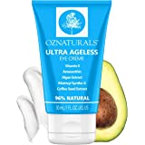 OZNaturals Anti Aging Face & Eye Cream With Collagen Peptides & Vitamin E - Under Eye Cream For Dark Circles & Puffiness, Eye