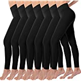 Valandy High Waisted Leggings for Women Buttery Soft Stretch Tummy Control Workout Yoga Pants One&Plus Size