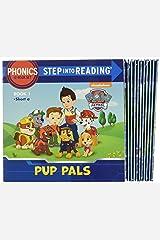 Paw Patrol Phonics Box Set: 12 Step Into Reading Books Paperback