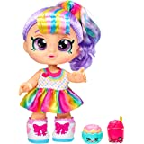 Kindi Kids Snack Time Friends - Pre-School Play Doll, Rainbow Kate - for Ages 3+   Changeable Clothes and Removable Shoes - F