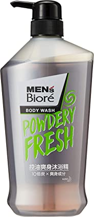 Men's Biore Powdery Fresh Body Wash, 750ml