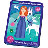 Mudpuppy 9780735357679 Princess Magic Magnetic Dress-Up, Multicolor