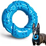 EASTBLUE Dog Chew Toy for Aggressive Chewers: Ultra-Tough Natural Rubber Puppy Chew Toy Nearly Indestructible for Medium and