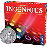 Ingenious   Ultimate Family Strategy Game   1 – 4 Players   Spiel Des Jahres-Nominated   Fun Abstract Tile Laying   Winner Go