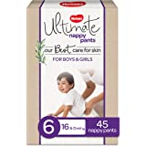 Huggies Ultimate Nappy Pants Size 6 (16+kg) 45 Count