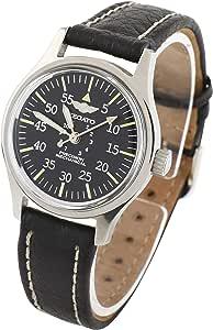 [ゼガト] 腕時計 Z-BK6516 メンズ 正規輸入品 ブラック