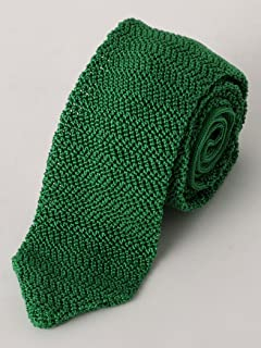 Silk Knit Tie 3134-343-2387: Kelly