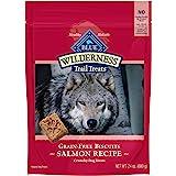 Blue Buffalo Wilderness Trail Treats High Protein Grain Free Crunchy Dog Treats Biscuits, Salmon Recipe 24-oz bag