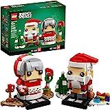 LEGO BrickHeadz Mr. & Mrs. Claus 40274 Building Kit (341 Pieces)