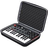 Case for Akai Professional MPK Mini MKII | 25-Key Ultra-Portable USB MIDI Drum Pad and Keyboard Controller by XANAD