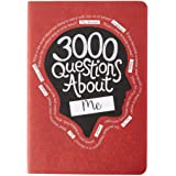 Piccadilly 3000 Questions About Me Journal | Self-Reflection & Personal Growth Book | Expand Your Mind | 206 pages