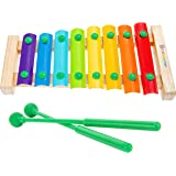 First Act CoComelon Musical Xylophone With 2 Mallets, Kids Music Toy, Develop Your Child's Hand-Eye Coordination, Fine Motor