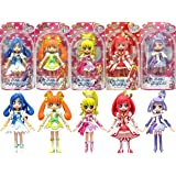 Bandai Glitter force precure doki doki precure pretty cure 5 figure doll set korea new