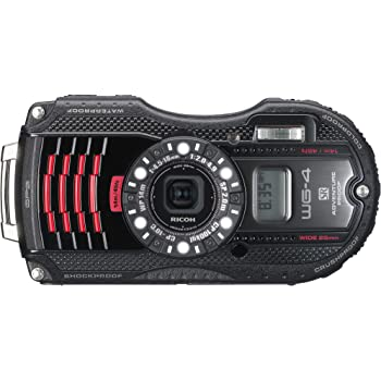 RICOH 防水デジタルカメラ RICOH WG-4GPS ブラック 防水14m耐ショック2.0m耐寒-10度 RICOH WG-4GPSBK 08543