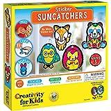 Creativity for Kids Sticker Suncatchers - Make Your Own Animal Sun Catcher Kit for Kids