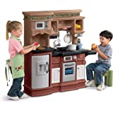 Little Tikes 619717 Gourmet Prep 'N Serve Kitchen Set, Brown