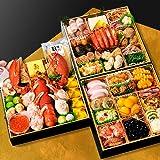 小樽きたいち 海鮮おせち 秀峰 特大8寸三段重 全45品 (12月30日(木))