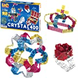 LaQ Crystal 400 - 15 Models, 400 Pieces   Japanese Building & Construction Toys   STEM Toys for Boys & Girls Age 5, 6, 7, 8,
