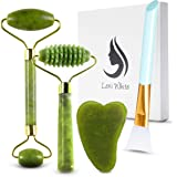 Jade Roller for Face | Beauty Roller to Improve the Appearance of Your Skin, Provide Relaxation, Massage Your Face & Enhance