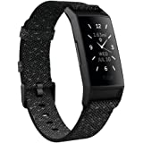 Fitbit Charge 4 Special Edition Advanced Fitness Tracker with GPS, Heart Rate, Sleep & Swim Tracking - Black Woven