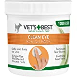 Vet's Best Eye Cleaning Pads for Dogs, Pack of 100