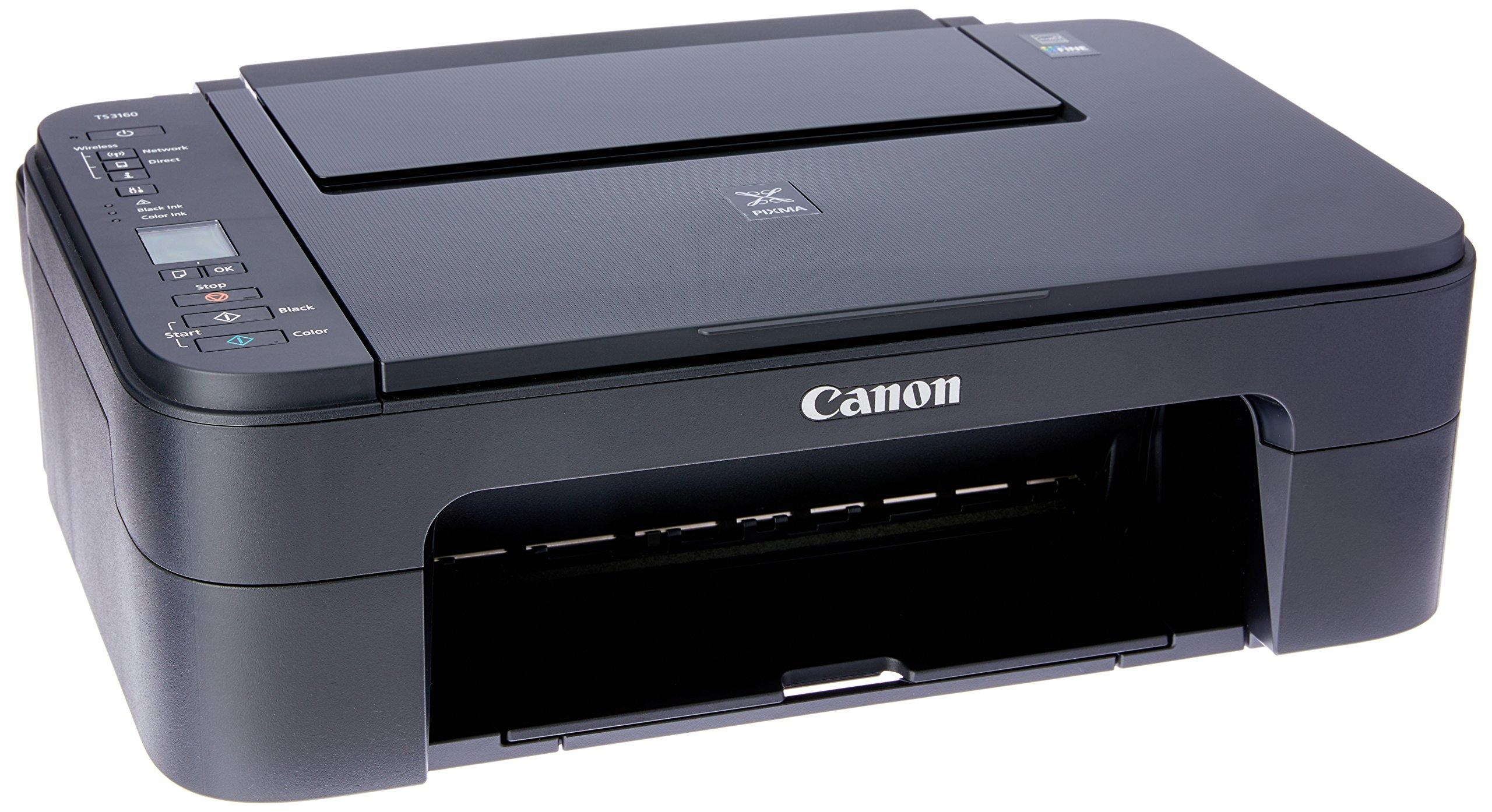 Canon Multi Function Home Printer PIXMA, Black (TS3160) 1