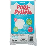 Fairfield Stuffing Beads, PP2B, Plastic, White, 2 Pound Bag