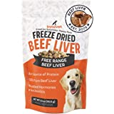 Innovet Pet Freeze Dried Treats - Beef Liver - 3 Calories per Treat, Protein for Dogs, Freeze Dried Beef Liver, Training Trea