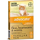 Advocate for Kittens and Small Cats up to 4kg, 3 Pack